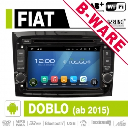 Android Autoradio für Fiat Doblo, DAB+ ready, Berling AN-7068 B-Ware (Nr. 405)