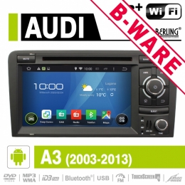 Android Autoradio für Audi A3/S3/RS3, Berling AN-7037, B-Ware (Nr. 408)