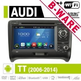 Android Autoradio für Audi TT, DAB+ ready, Berling AN-7039, B-Ware (Nr. 413)