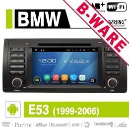 Android Autoradio für BMW E38/E39/E53, DAB-ready, AN-7502, B-Ware (Nr. 423)