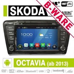 Android Autoradio für Skoda Octavia ab 2013, Berling AN-8035, B-Ware (Nr. 422)