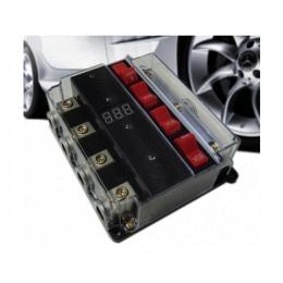 4-fach Sicherungsautomat 80A mit Spannungsanzeige
