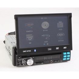 """1-DIN Autoradio mit CD/DVD/iPod/USB und AUX, 7"""" Touch-Display, (B-Ware Nr.327)"""