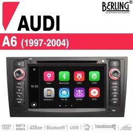 Autoradio Navigation für Audi A6, Berling TS-1407F-4, B-Ware (Nr. 434)