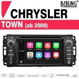 Autoradio Navigation für Chrysler, Dodge, Jeep, Berling TS-3065 B-Ware (Nr. 436)