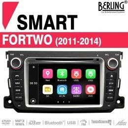 Autoradio Navigation für Smart ForTwo (2011 - 2014), TS-1623S-3 B-Ware (Nr. 437)