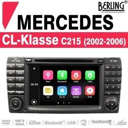 Autoradio Navigation für Mercedes S/CL-Klasse, TS-1625S-1, B-Ware (Nr. 439)