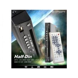 Half-Din DVD-Player mit USB-/SD-Eingang, eonon