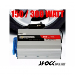 "Spannungswandler 12V/220V 150/300Watt mit USB, ""HI-150"""