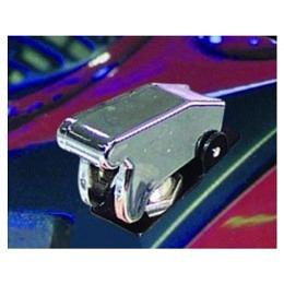 Kill-Switch mit Schutzklappe und LED, silber