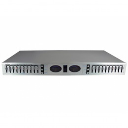 """Stereo Equalizer, 10 Band, silber """"EQ-2028"""""""