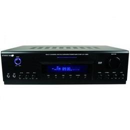 Hifi-Verstärker HOME CINEMA 5.1, 2x80W + 3x40W, schwarz