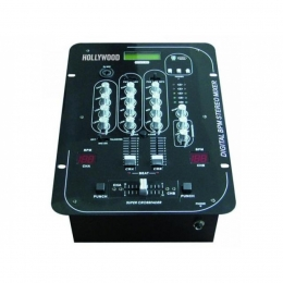 "Mischpult Hollywood, 3-Kanal, Beatcounter BPM, USB-Slot ""MX-33 Beat/USB"""
