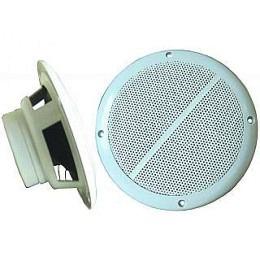 "Aussen-Lautsprecher, 2-Wege, 8 Ohm, 100 Watt, 165mm, weiss, ""M-65"", (Paarpreis)"