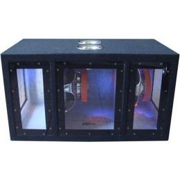 "Subwoofer, 2x10"", 1600 Watt, Shockware MX-1090"