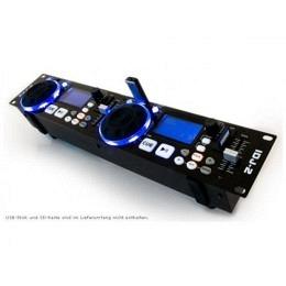 "USB/SD-Player, Ibiza, 2x USB, 2x SD, schwarz ""IDJ-2"""