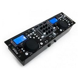 "USB/SD-Player, Hollywood, inkl. Mixer, schwarz ""Mix-it"""