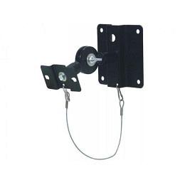 Wandhalterung für Monitorboxen, Metall, schwarz, McVoice, Paarpreis