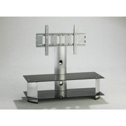 TV-Möbel mit Halterung, drehbar, Schwarzglas, Berling FAVS36B