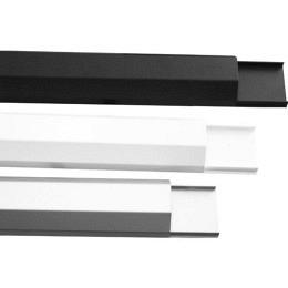 Kabelkanal, Aluminium in drei Farben, Länge: 110cm Breite 3cm, Berling CC03