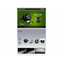 Kleinste Rückfahrkamera, nur 20mm lang, 16mm Ø, wasserdicht, Einbau oder Bügel