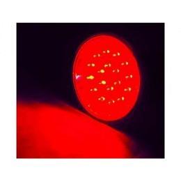 LED-Strahler in PAR-30 Bauform, 230V 18 LEDs, E27-Sockel, rot, 20.000h