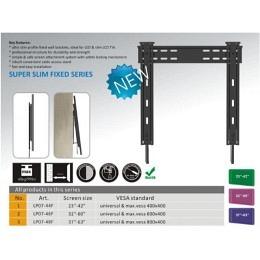 "LED-TV Wandhalterung bis 63"", nur 10mm Wandabstand! LP07-48F"