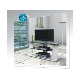 TV-Möbel, weisser Klarlack, Berling M401