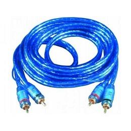 """Cinchkabel Stecker auf Stecker """"Blue RCA"""" 2m"""