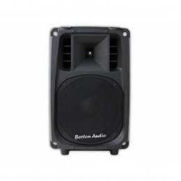 "Aktive PA-Box Borton Audio, 2-Weg 12"", 800Watt, IPod/IPhone-Dock, SD+USB"