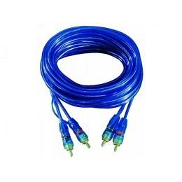"""Cinchkabel Stecker auf Stecker """"Blue RCA"""" 5m"""