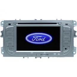 B-WARE, 2-DIN Autoradio, GPS/Navigation, DVD, speziell für Ford Focus (B-272)