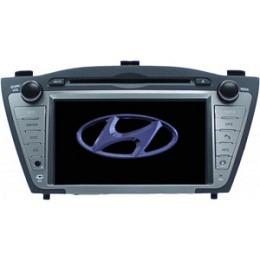 B-Ware, 2-DIN Autoradio, GPS, DVD, speziell für Hyundai IX35 (B-093)