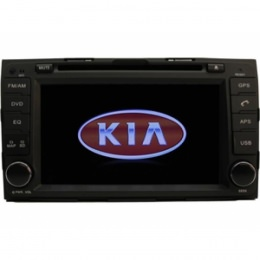 B-Ware, 2-DIN Autoradio, GPS, DVD, speziell für Kia Sportage ab 2011 (B-091)