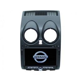 B-WARE, 2-DIN Autoradio, GPS/Navigation, DVD, für Nissan Qashqai  (B-273)