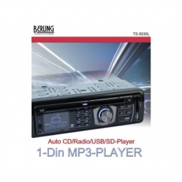 Autoradio, RDS, CD/MP3, USB/SD-Slot, BERLING TS-5030L