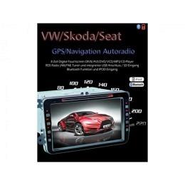 2-DIN Autoradio, GPS/Navigation speziell für VW TS-1110HD-2 (B-Ware Nr. 443)