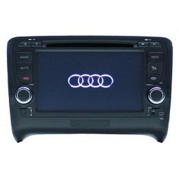 B-WARE, 2-DIN Autoradio, GPS/Navigation, DVD, für AUDI TT 2006-2010, (B-232)