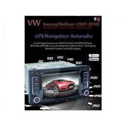 B-WARE, 2-DIN Autoradio, GPS/Navigation speziell für VW Touareg  (B-237)