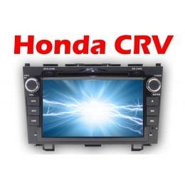 B-WARE, 2-DIN Autoradio, GPS/Navigation, DVD, speziell für Honda CRV (B-235)