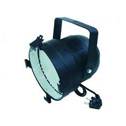 LED-Discostrahler PAR-56, schwarz, 151 LEDs, RGB, DMX-Controlled