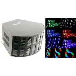 """LED-Lichteffekt, Hollywood, 60 Linsen, DMX-512 """"Derby"""""""