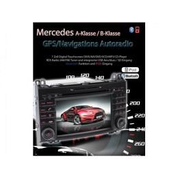 B-WARE, 2-DIN Autoradio, GPS/Navigation, Mercedes W169/W245/Vito/ usw (B-234)