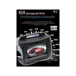 2-DIN Autoradio, Navigation speziell für Kia Sportage (ab 2010) B-Ware (Nr. 239)
