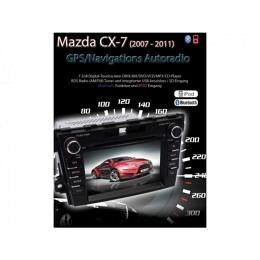 B-WARE, 2-DIN Autoradio, GPS/Navigation, DVD, für Mazda CX-7 (2007 - 2011),B-247
