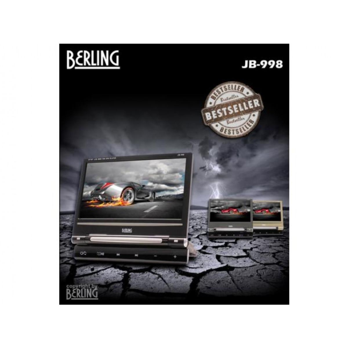 9 bildschirm mit integriertem dvd player universell. Black Bedroom Furniture Sets. Home Design Ideas