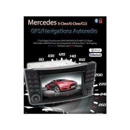 B-WARE, 2-DIN Autoradio, GPS/Navigation, DVD, speziell für Mercedes W211 (B-251)