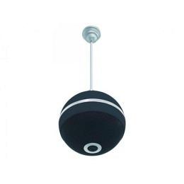 Decken-Lautsprecher in Kugelform, Design-Kugella, schwarz, 10W RMS, 18cm Ø