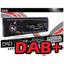 Autoradio, DAB/DAB+ digital inkl. Antenne, iPhone-/iPod-ready, SD/USB/CD,BERLING