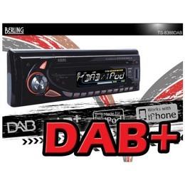 Autoradio, DAB/DAB+ digital inkl. Antenne, iPhone-/iPod-ready, SD/USB/CD,BERLING